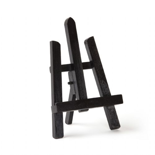 "Black Colour Easel Essex 11"" - Beech Wood"